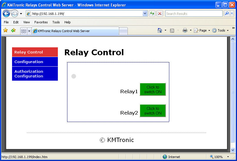 LAN Ethernet IP 2 Relay board, Ethernet 2 Relay controller